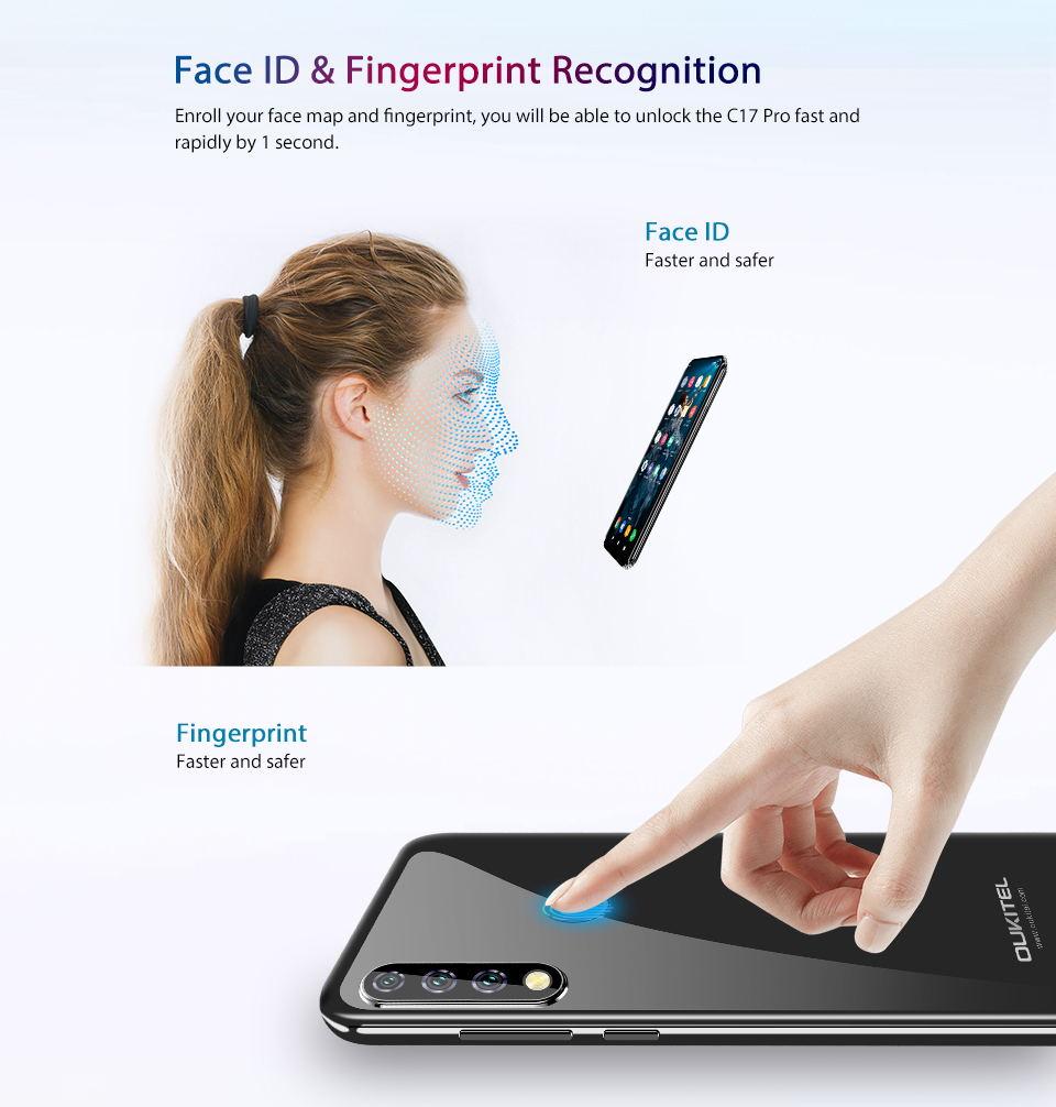 oukitel c17 pro 4g smartphone 64gb