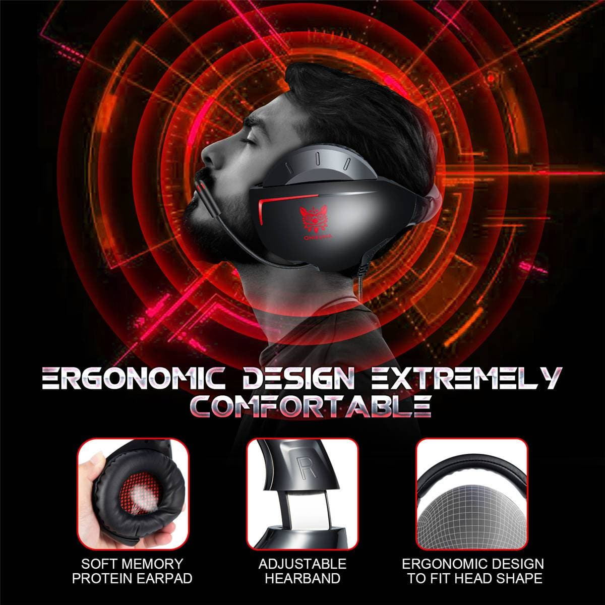onikuma k7 gaming headset