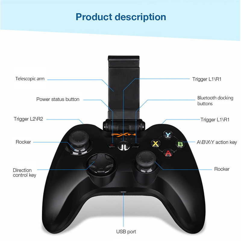buy pxn 6603 wireless gamepad game controller