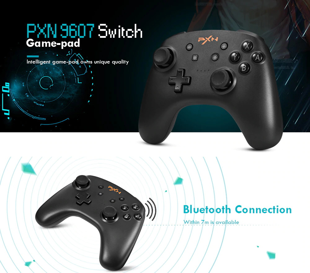 pxn 9607 wireless gamepad game controller
