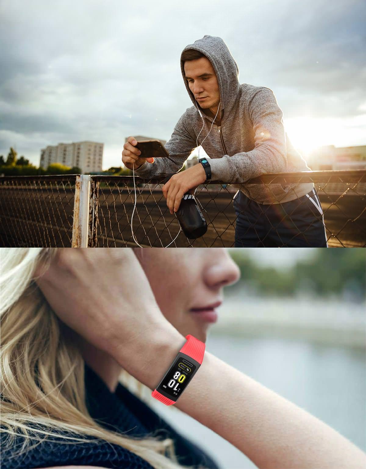 r10 1.14 inch sports smart bracelet review