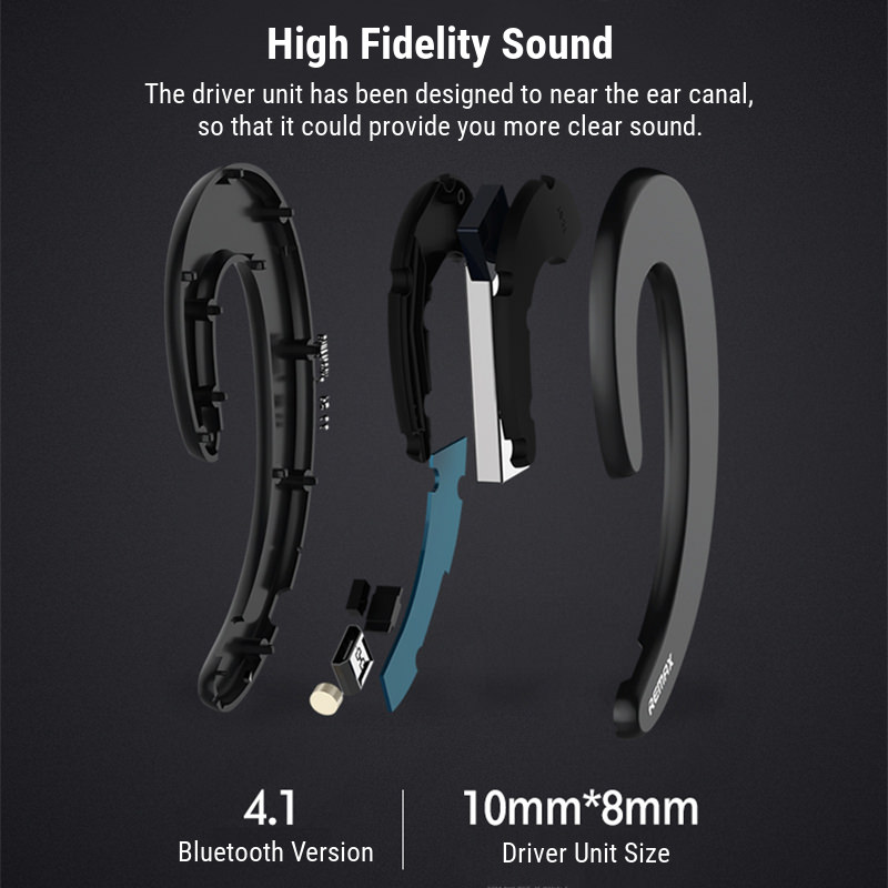new remax rb-t20 unilateral earphone