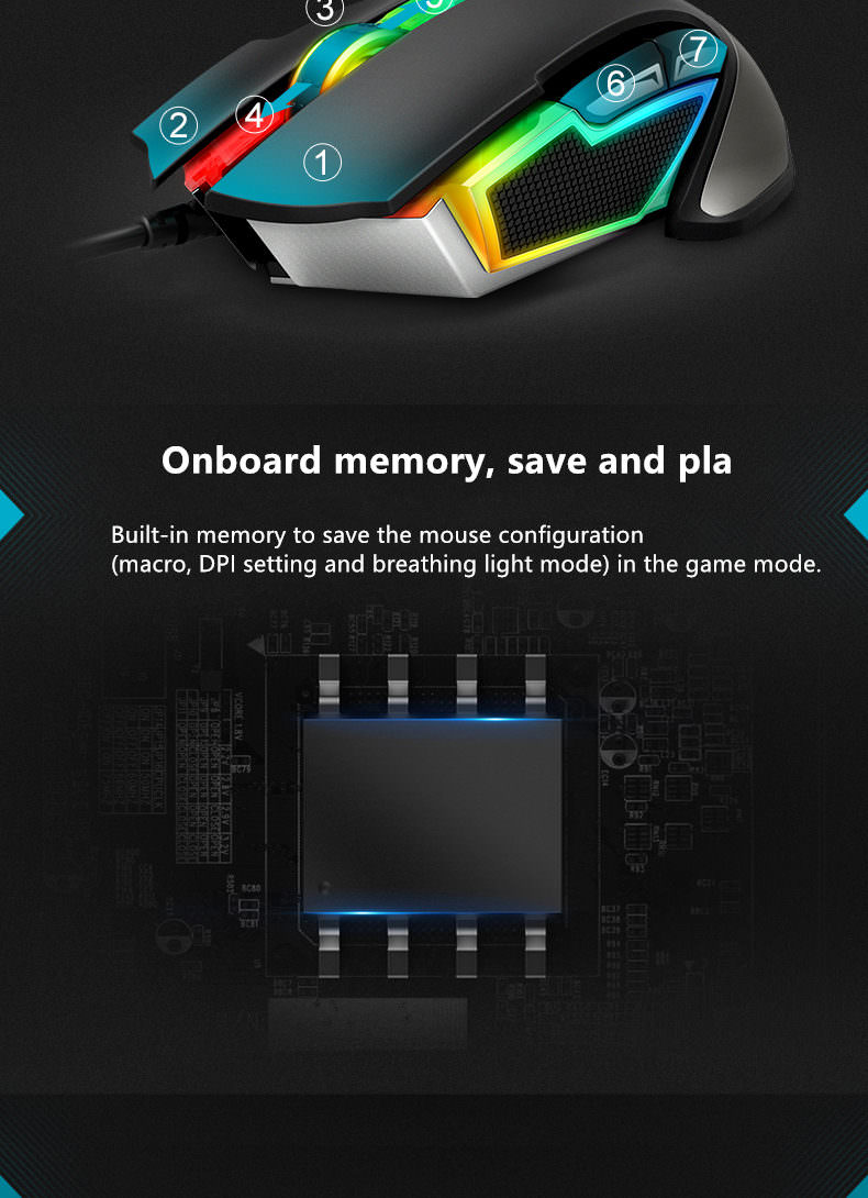 2019 rapoo v302 optical gaming mouse