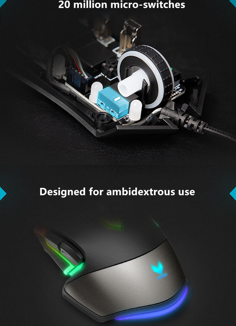 new rapoo v302 optical gaming mouse