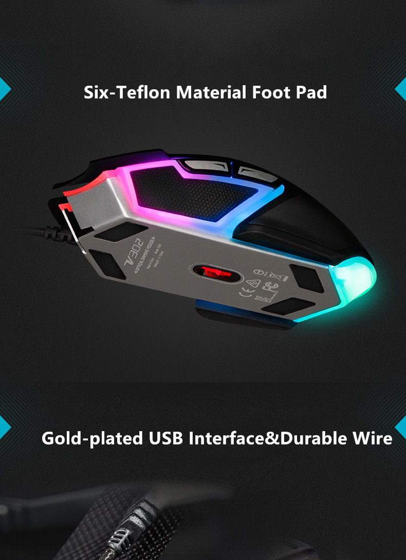 rapoo v302 optical gaming mouse online