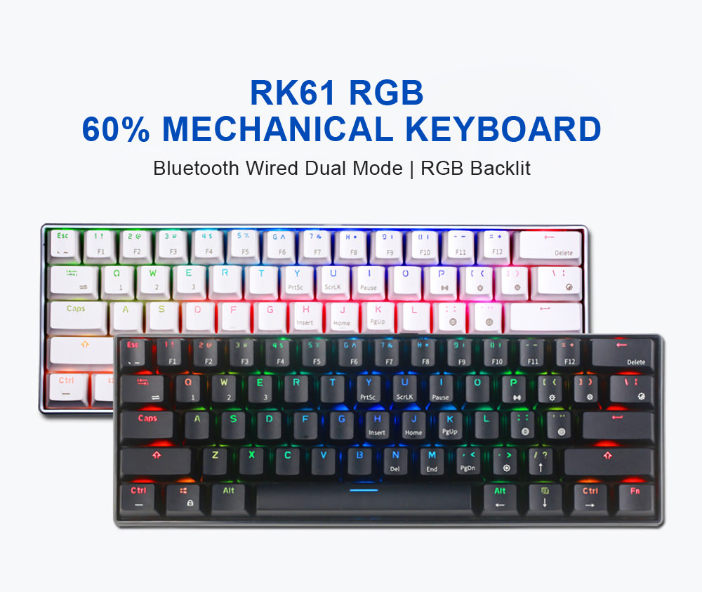 royal kludge rk61 gaming keyboard