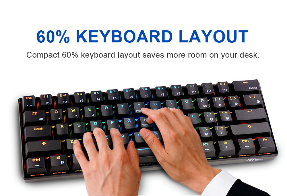 buy royal kludge rk61 gaming keyboard