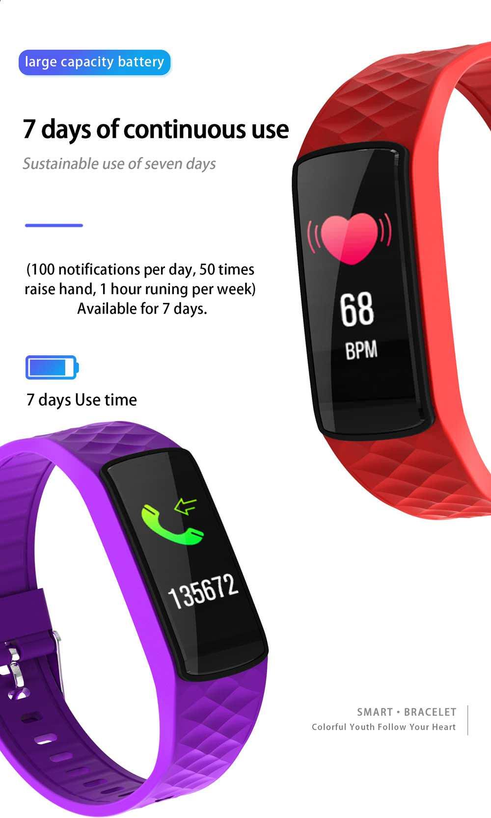 sn66 smart waterproof wristband
