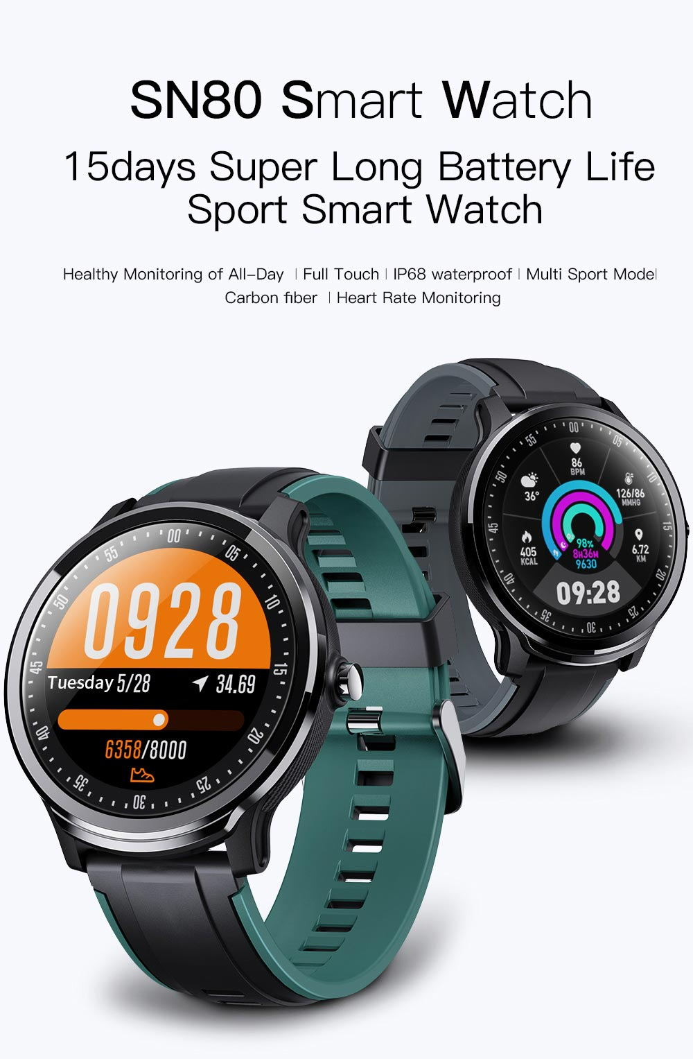 sn80 bluetooth smartwatch