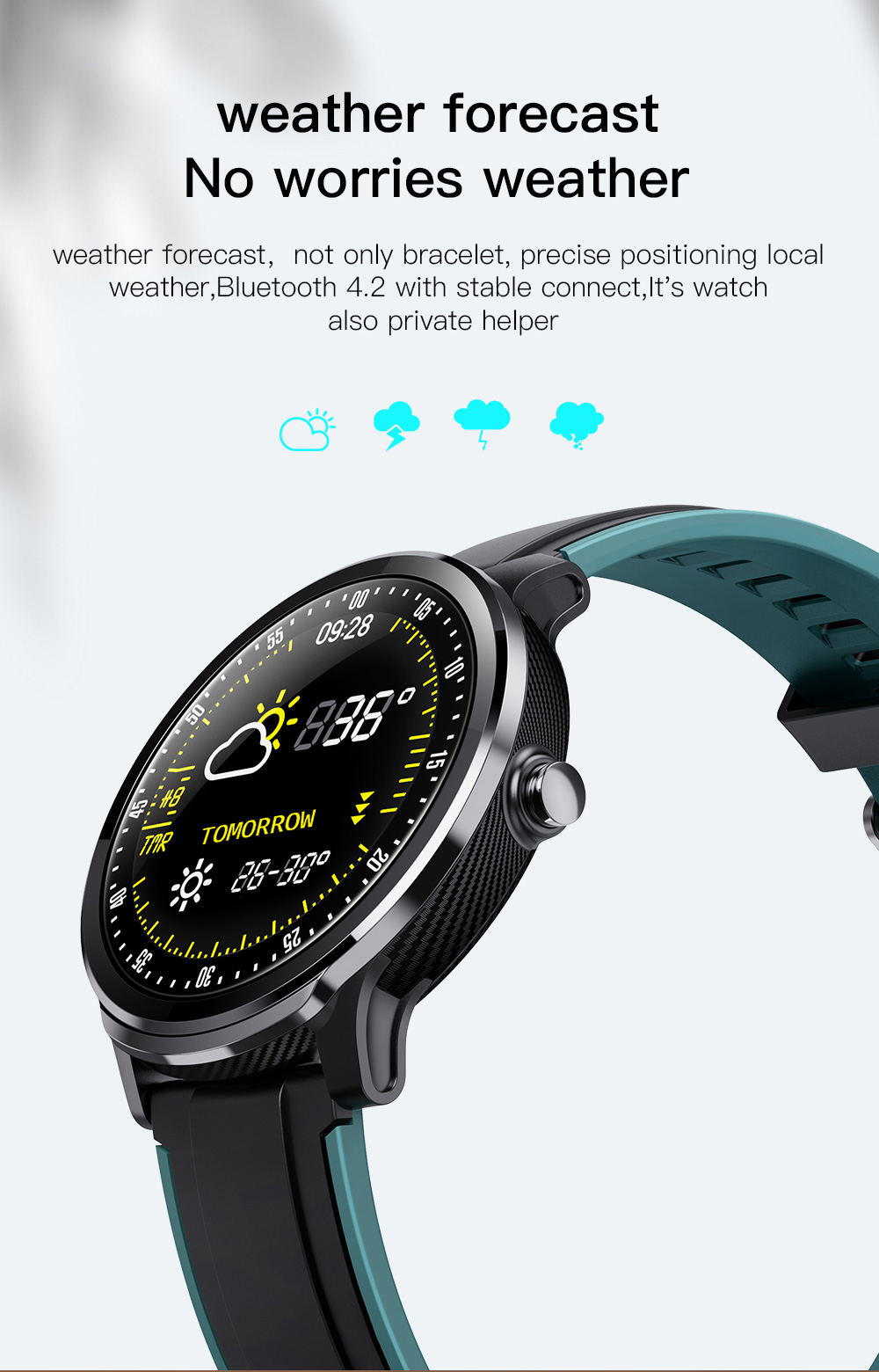 buy sn80 touch screen smartwatch