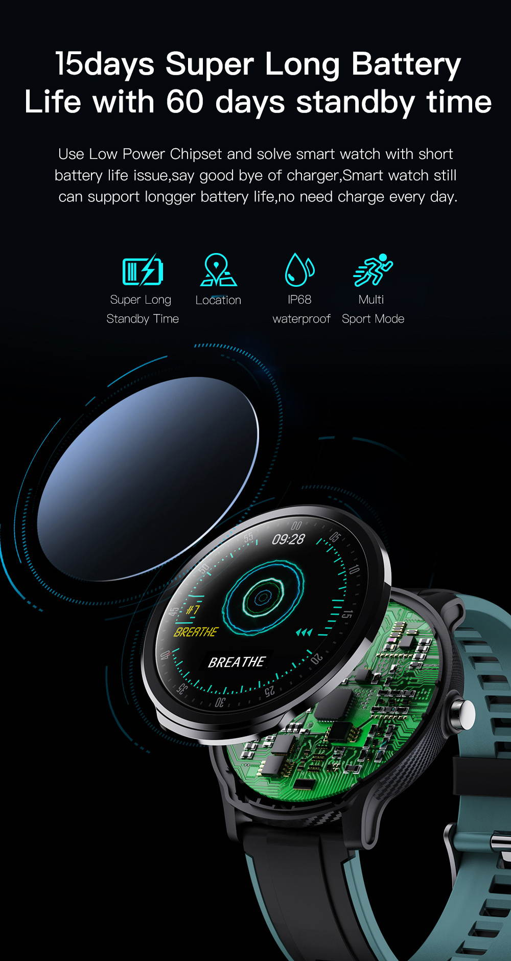 hotsale sn80 bluetooth smartwatch