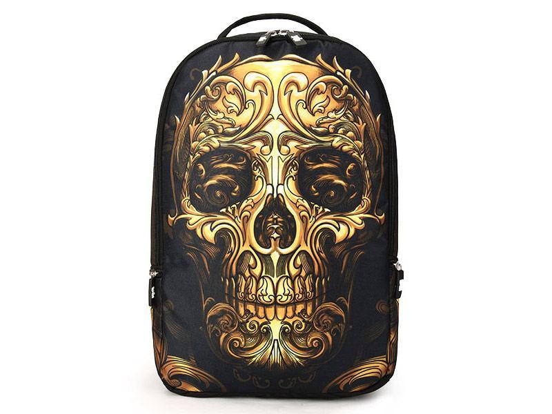 buy skull pattern multifunctional backpack