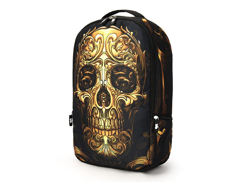 skull pattern multifunctional backpack for sale