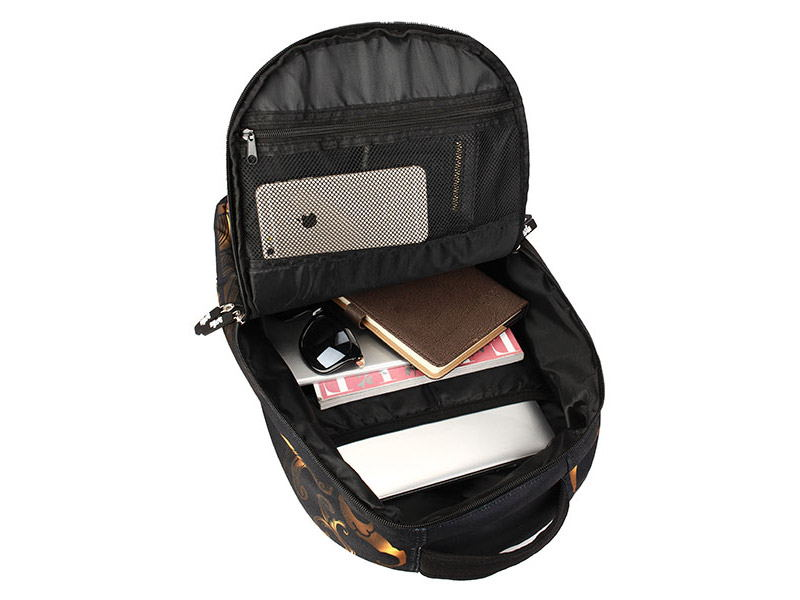 cheap skull pattern multifunctional backpack