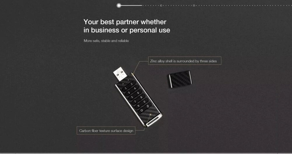 new teclast keystroke flash drive