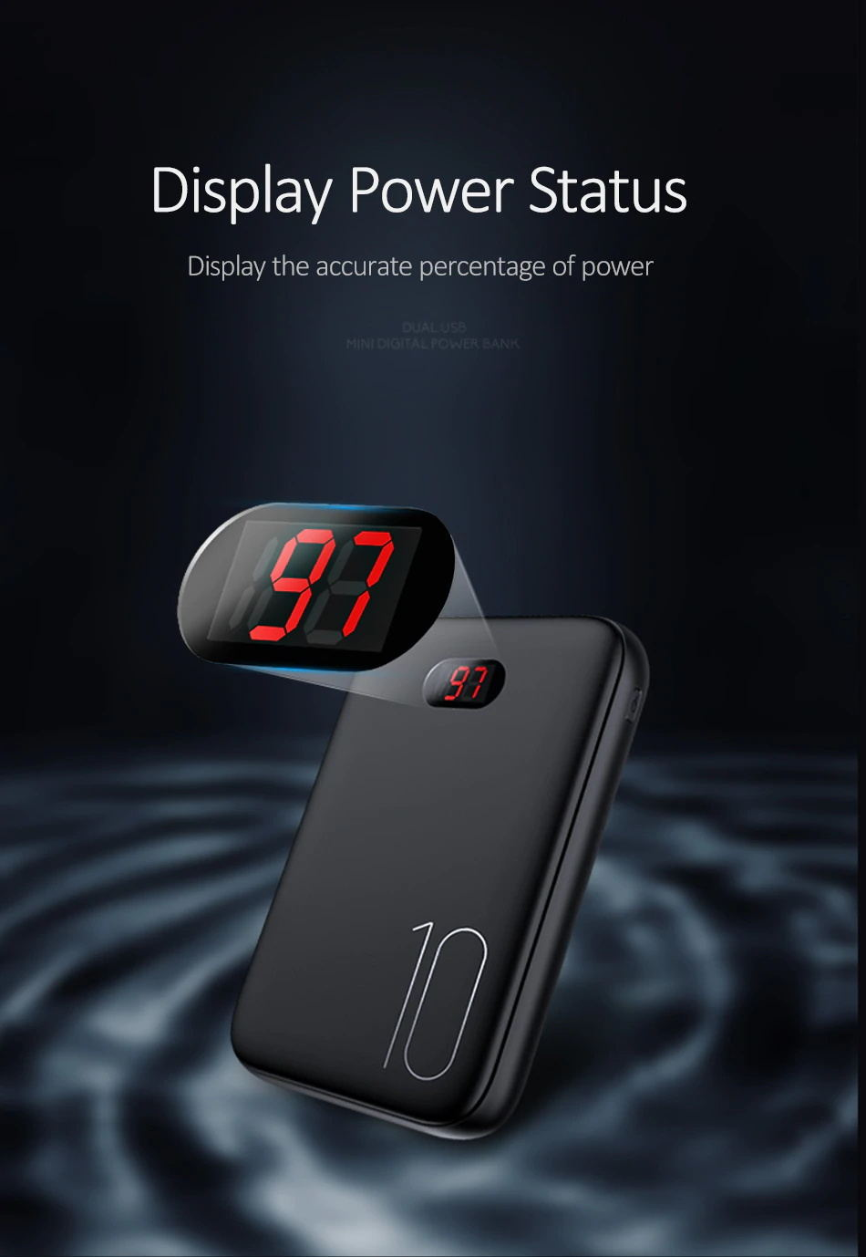 new usams pb9 digital power bank