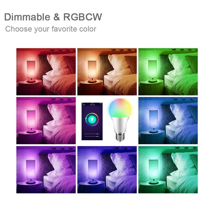 w41 wifi smart 900 lumens light bulb