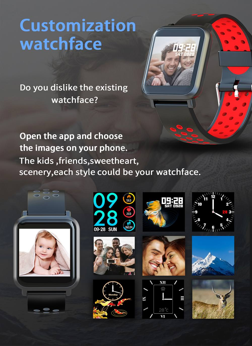 2019 xanes sn60plus smartwatch