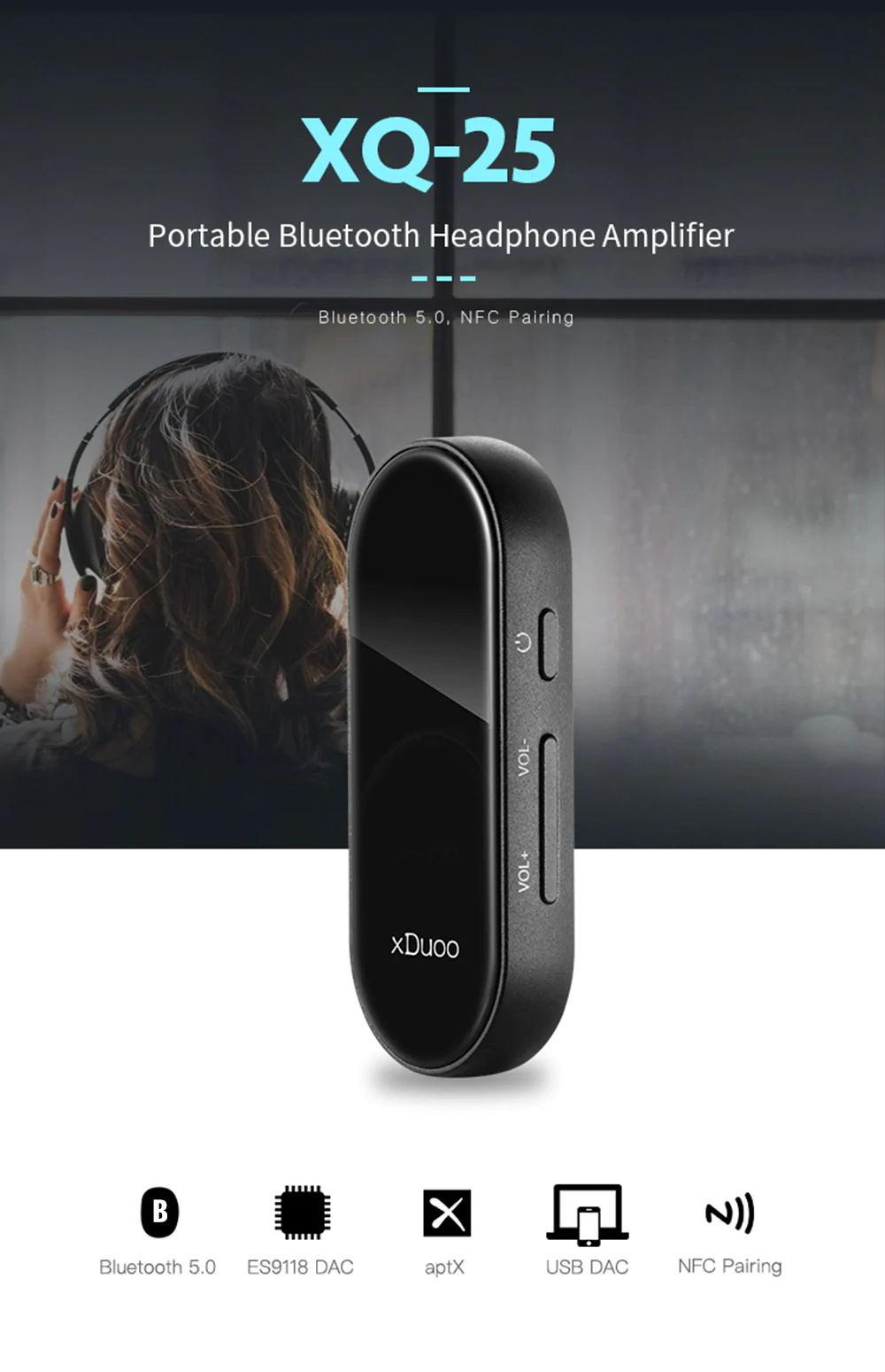 xduoo xq-25 headphone amplifier