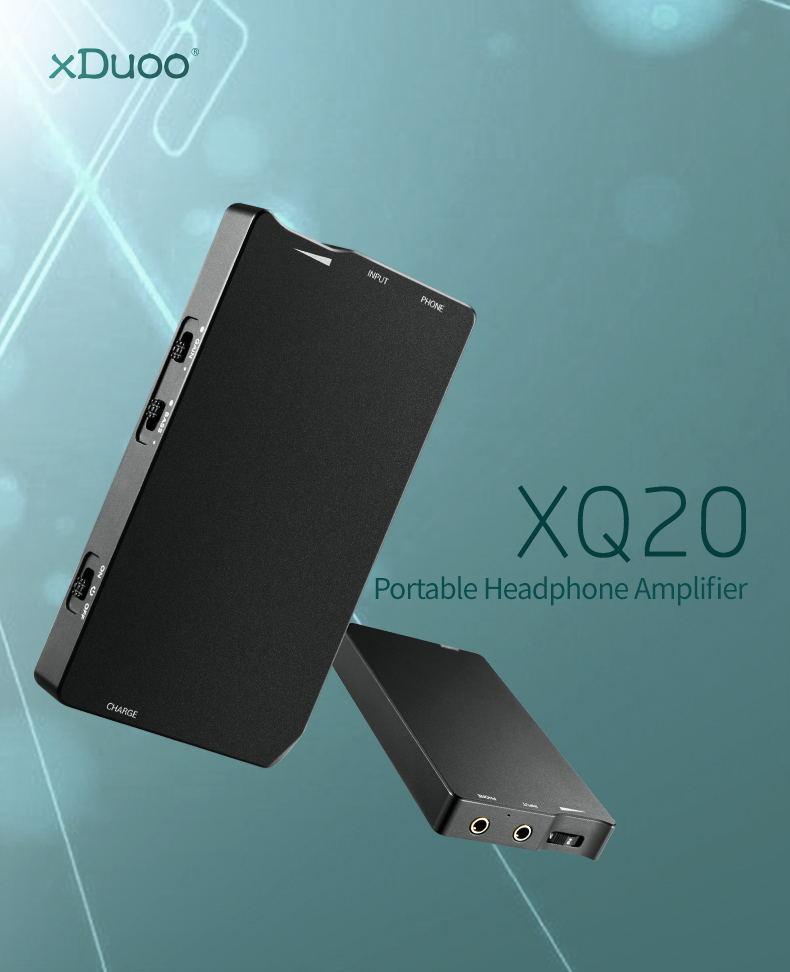 xduoo xq-20 headphone amplifier