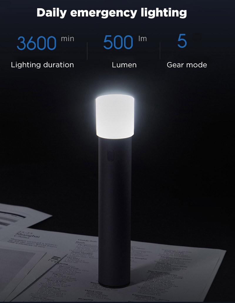 buy xiaomi zmi lpb02 power bank flashlight