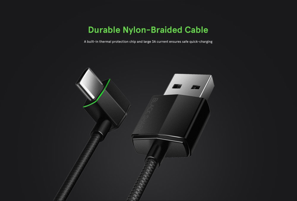 new xiaomi black shark type-c data cable