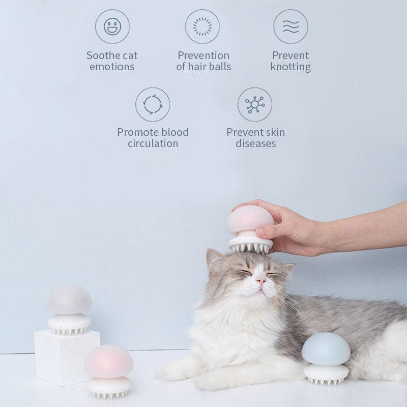 xiaomi furrytail pet massager comb