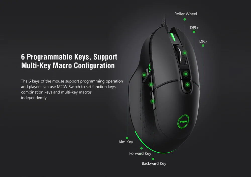 buy xiaomi miiiw 700g gaming mouse