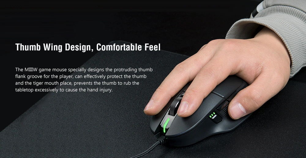 xiaomi miiiw 700g gaming mouse online