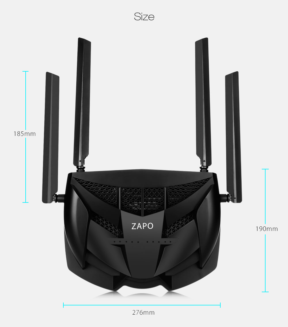 price zapo z-1200 smart game router