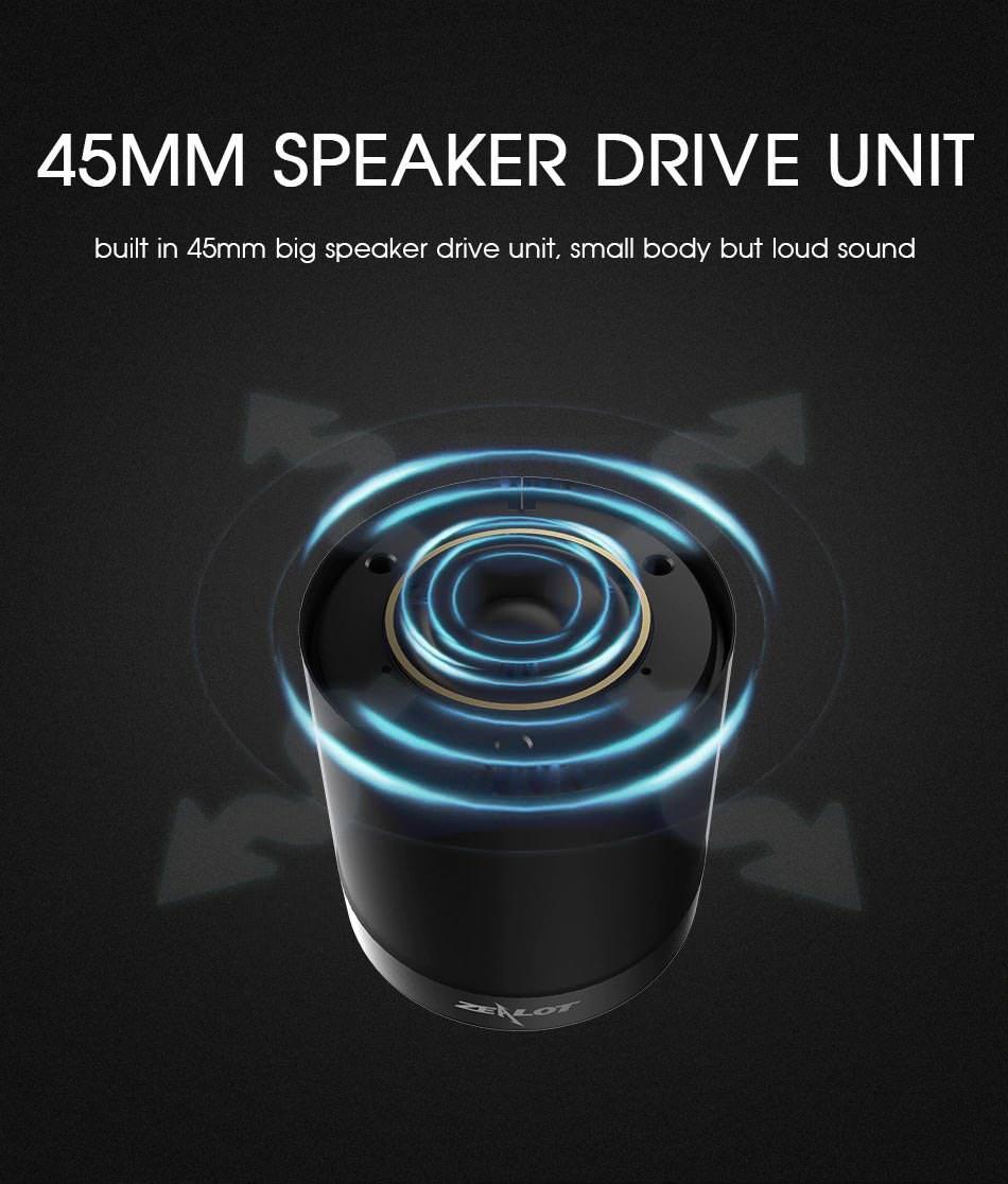 2019 zealot s5 2 bluetooth speaker