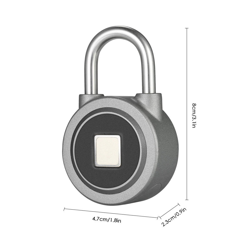 fb50 smart fingerprint padlock 2019