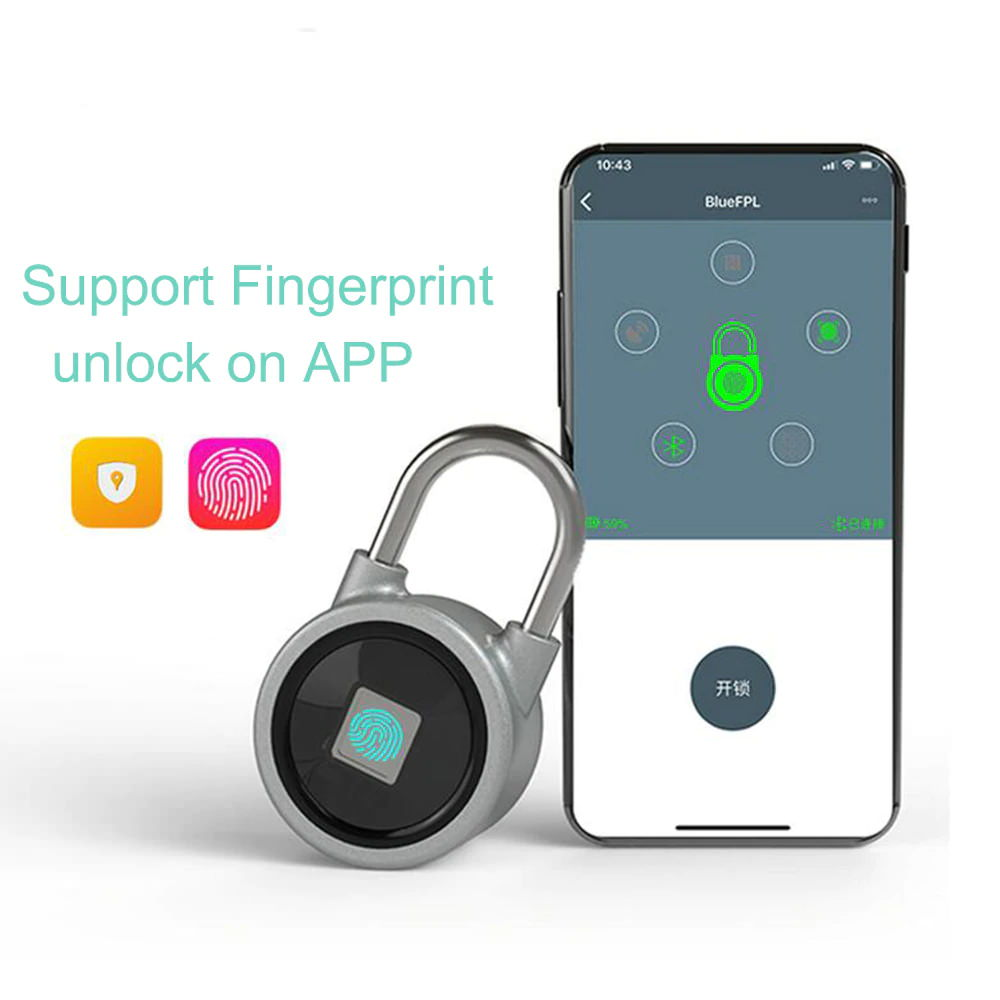 fb50 smart fingerprint padlock