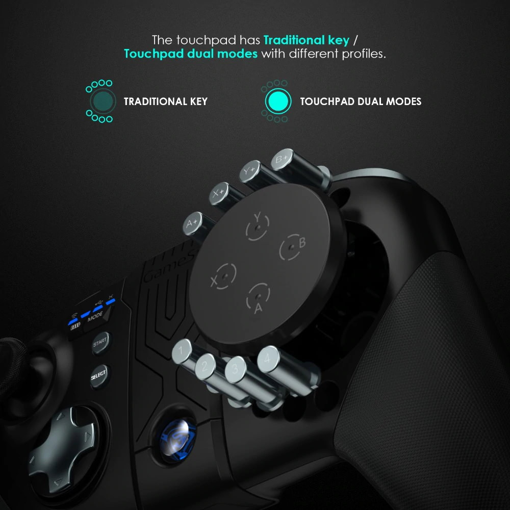 new gamesir g5 bluetooth wireless game controller