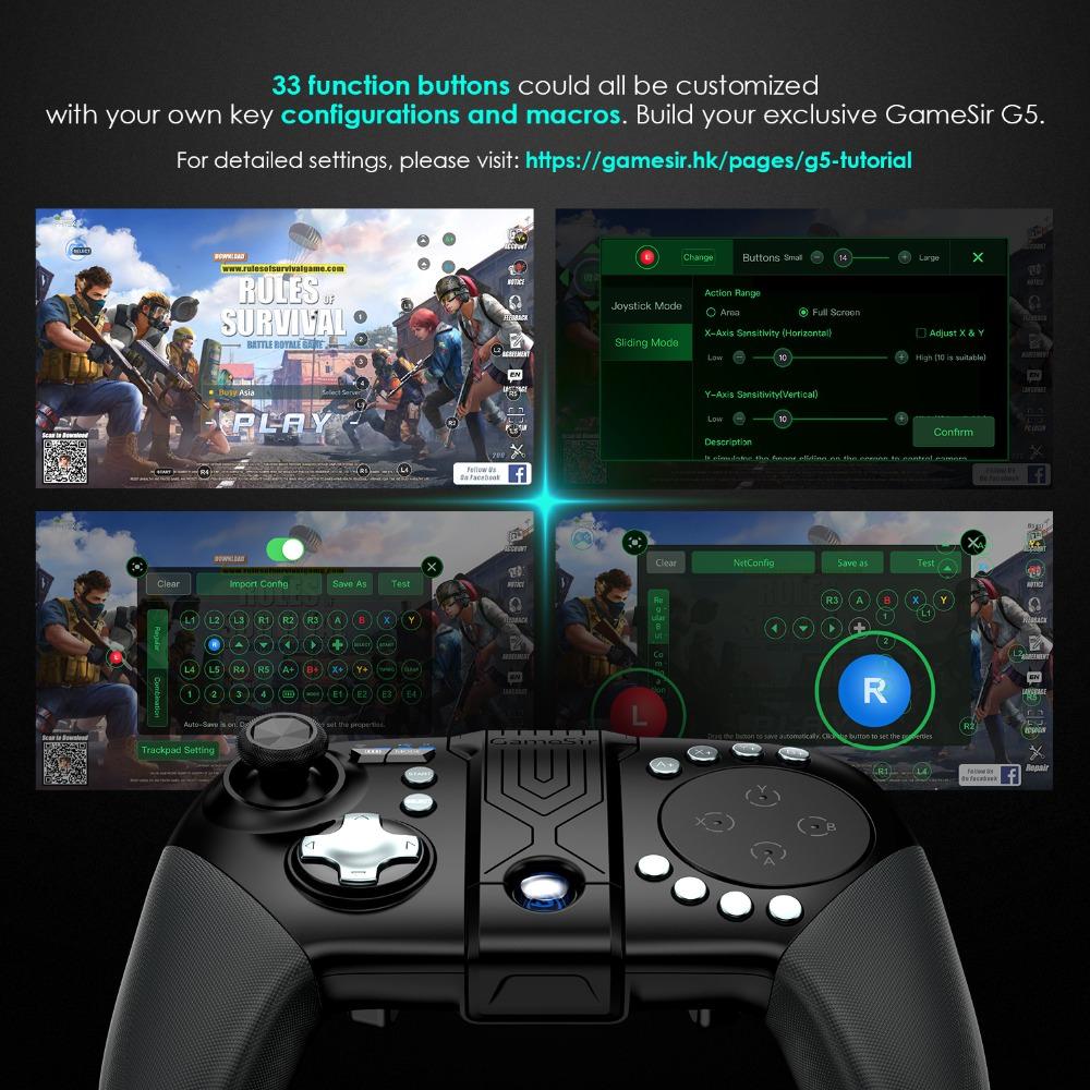 buy gamesir g5 bluetooth wireless game controller
