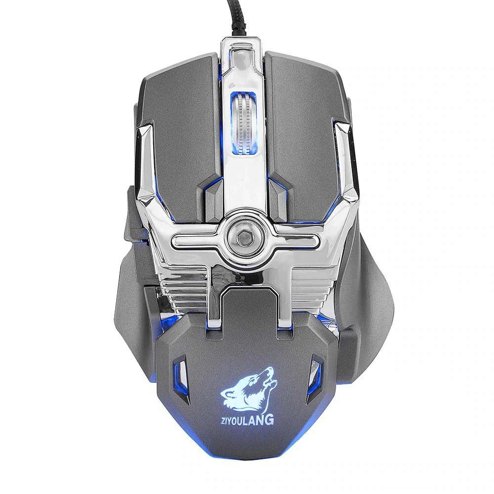 buy v15 wired mechanic gaming mouse