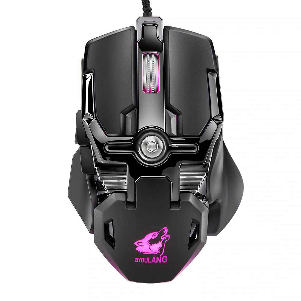 v15 wired mechanic gaming mouse 2019