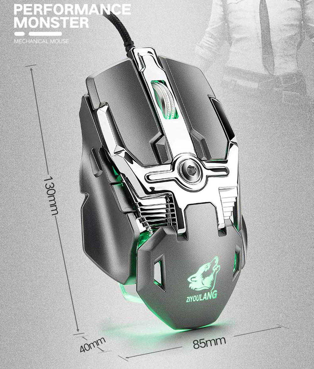 buy v15 wired gaming mouse