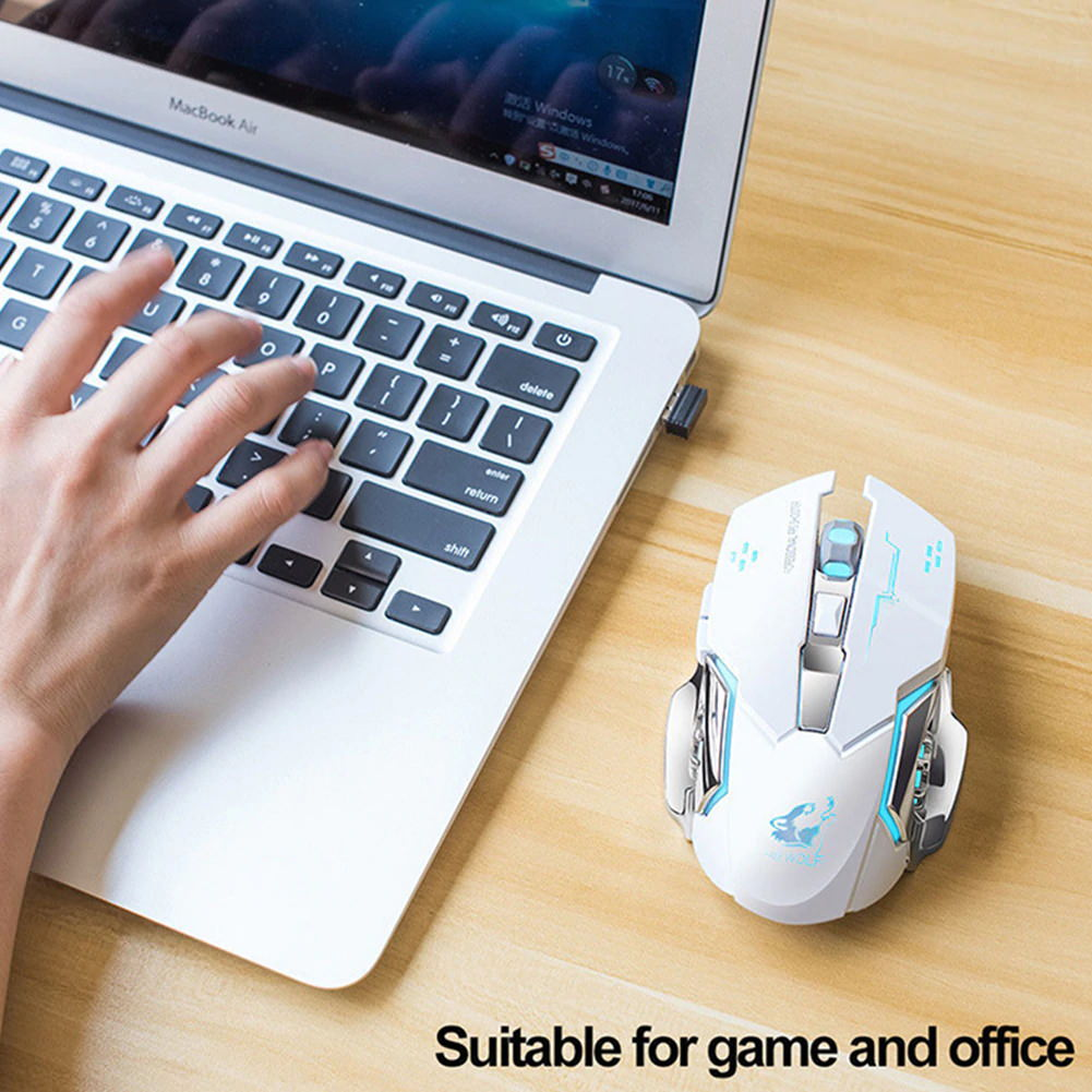 x8 wireless game mouse