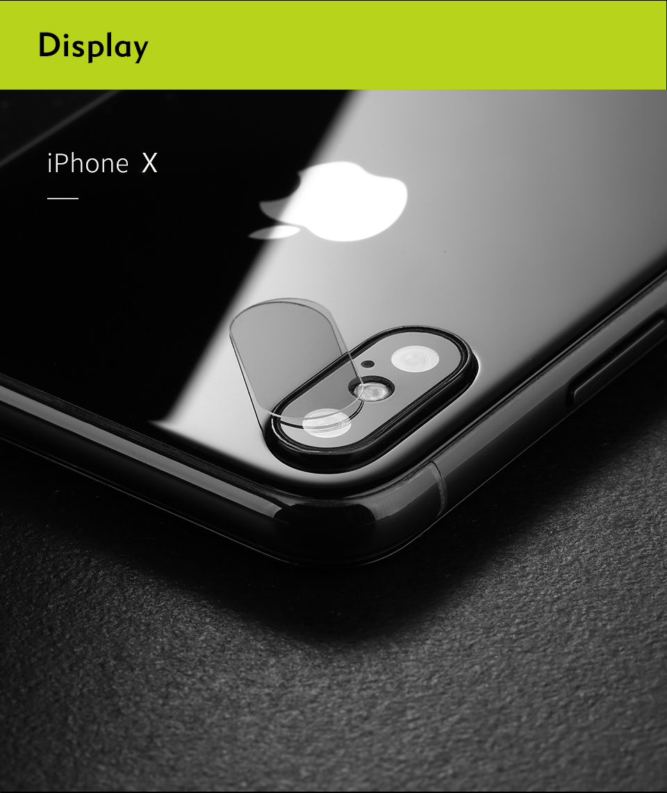 iphone x tempered glass lens protector