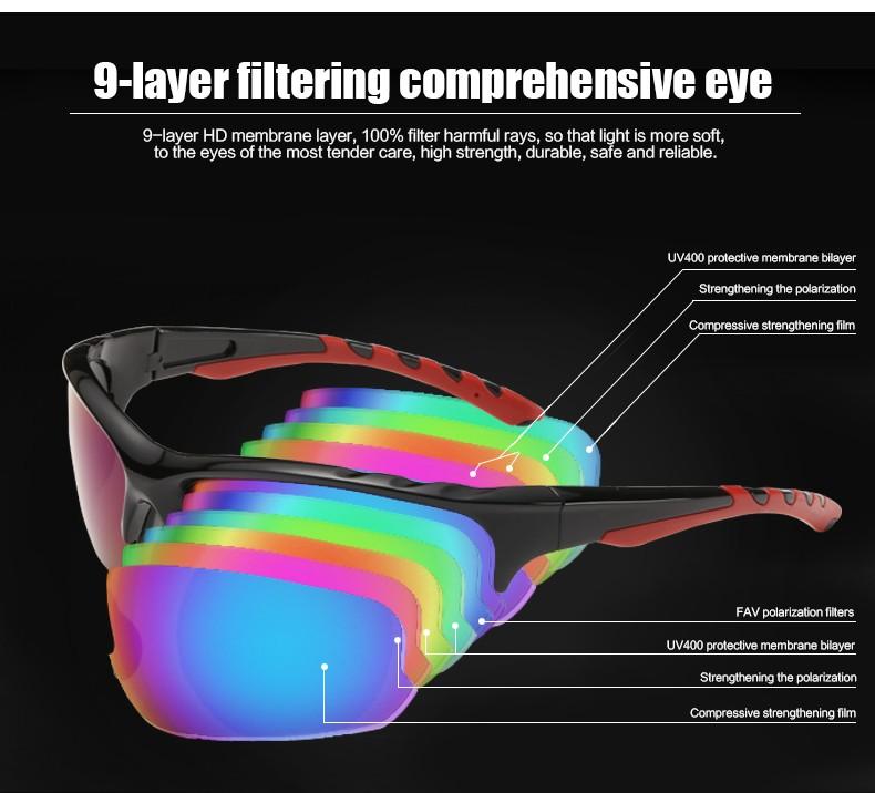 Coolsir Sunglasses Prizm UV400 Wild Sun Glasses
