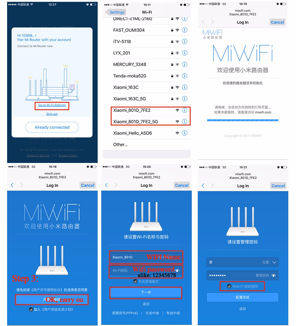 xiaomi mi wireless router 3