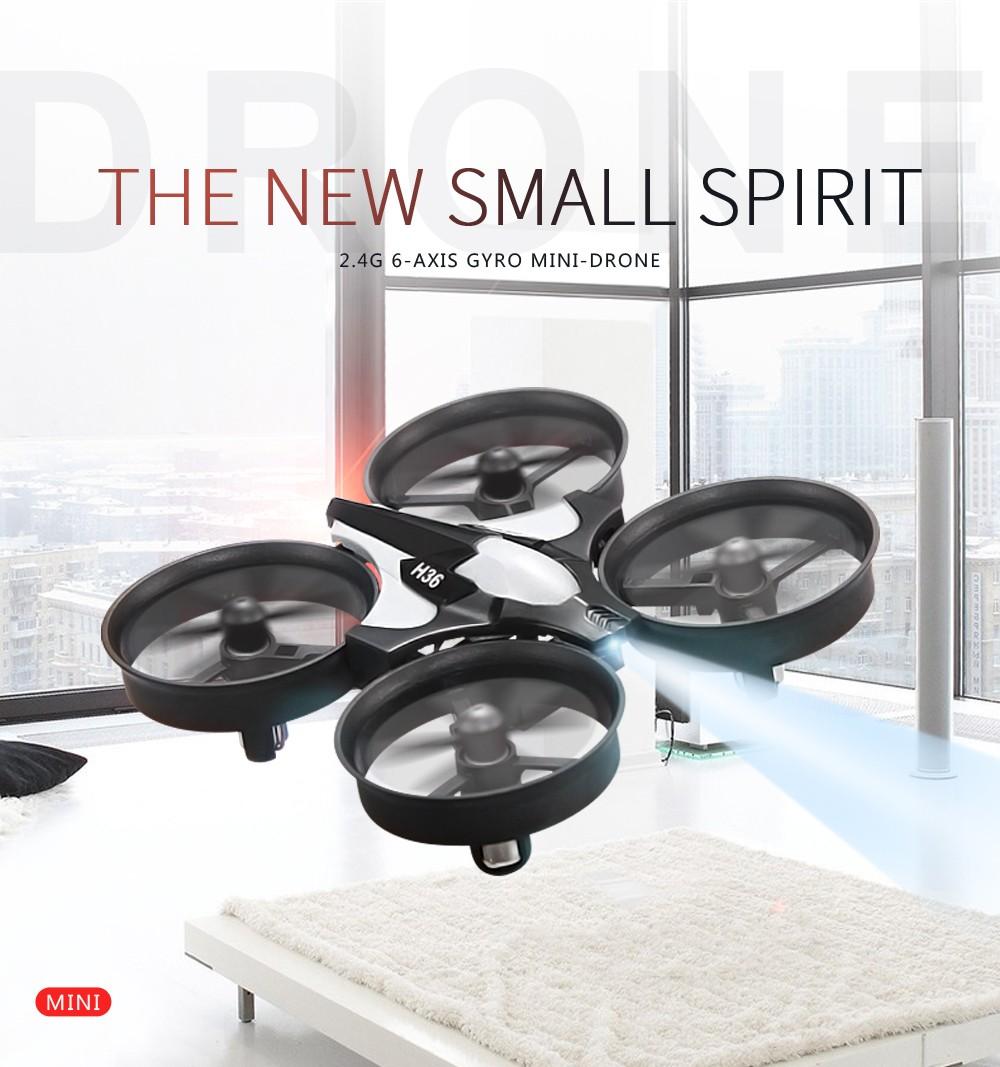 JJRC H36 Mini Headless Drone RC Quadcopter Pocket Toy