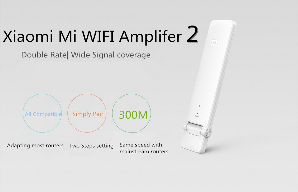 Xiaomi Mi WiFi Amplifier 2 Wireless Router Network Signal Extender