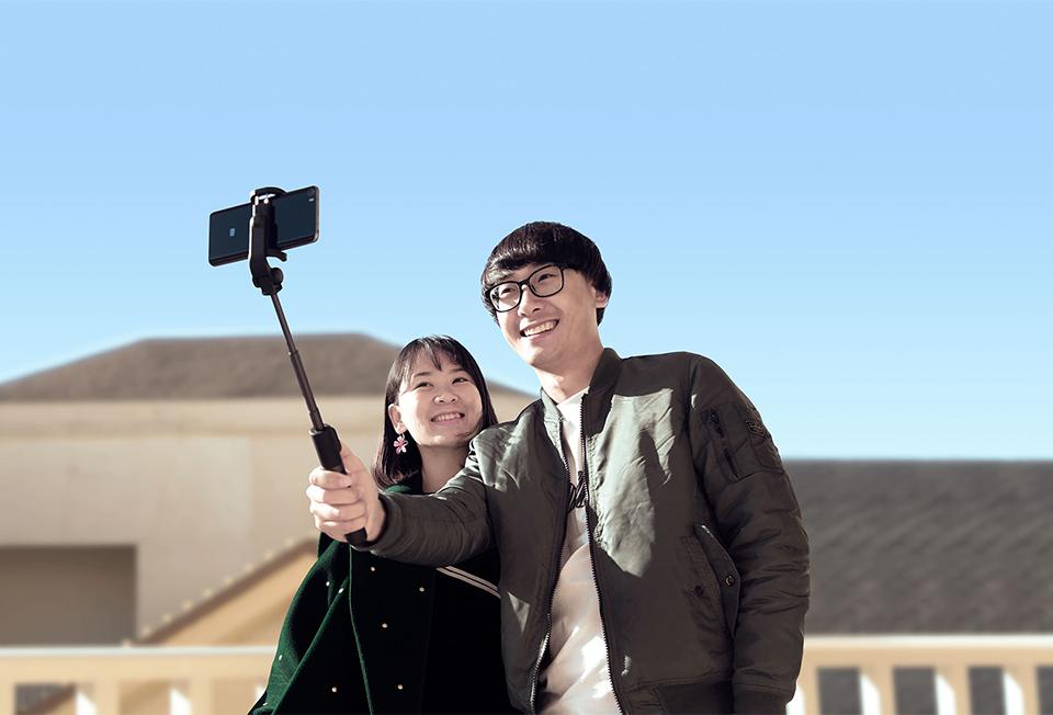 Xiaomi Selfie Bluetooth Stick 3.0 Monopod Foldable Tripod Stand 2 in 1