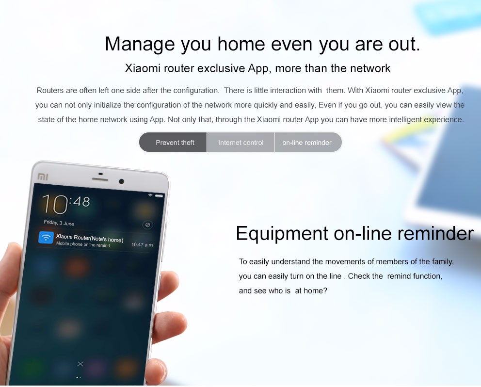xiaomi wifi router 3