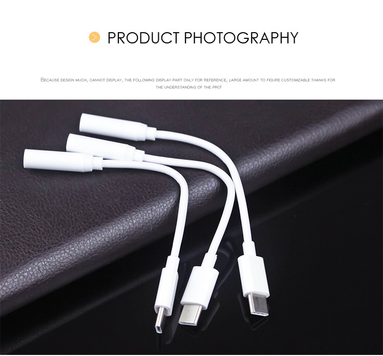GearVita Type-C Audio Cable AUX Connector 3.5mm Adapter