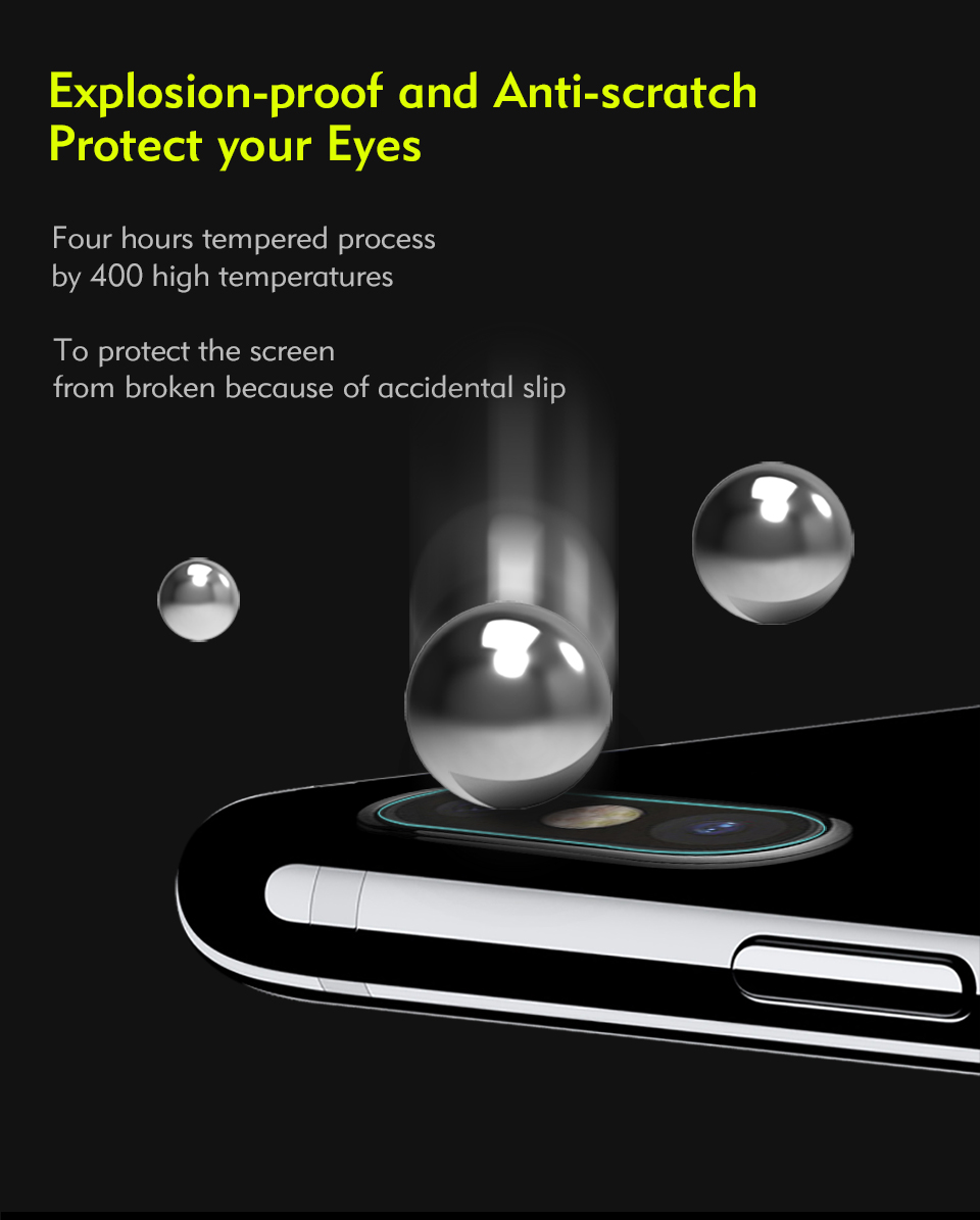 lens tempered glass protector