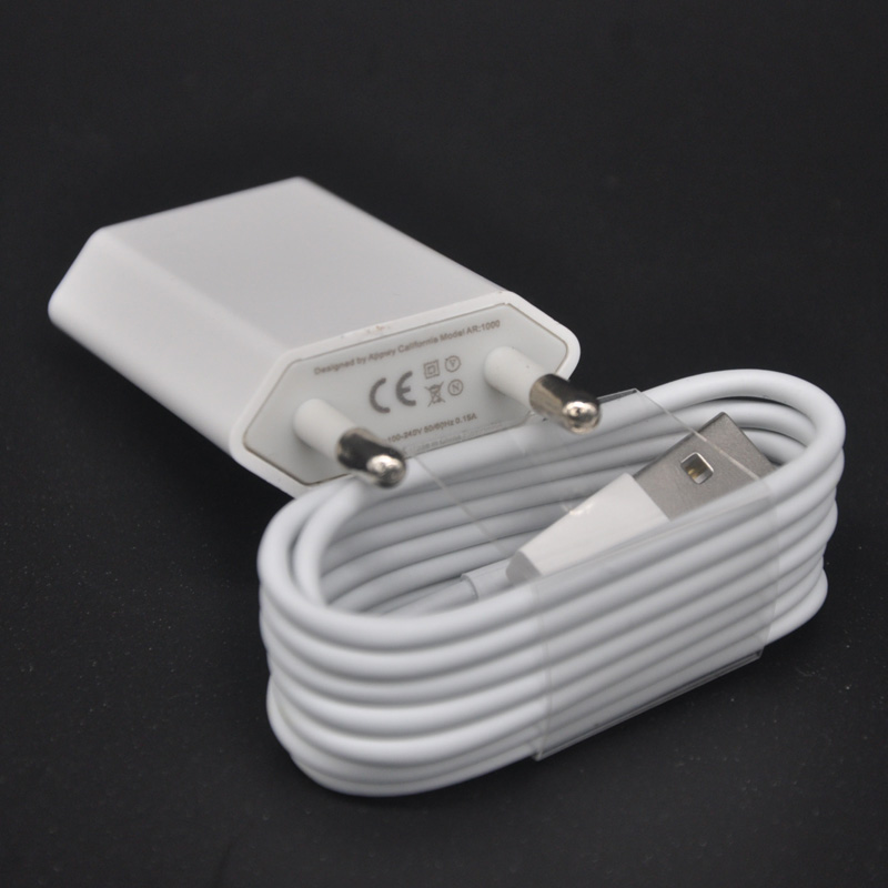 iPhone Mobile Phone Charger + Data Cable - EU