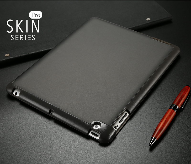 DUX DUCIS PU Leather Case Foldable Folio Smart Stand for iPad 2/3/4